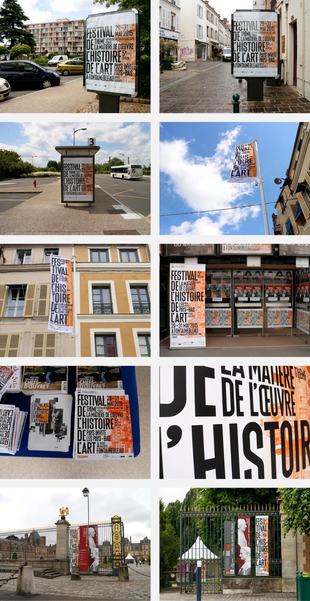 anouck fenech festival de l'histoire de l'art – identité visuelle – 2015