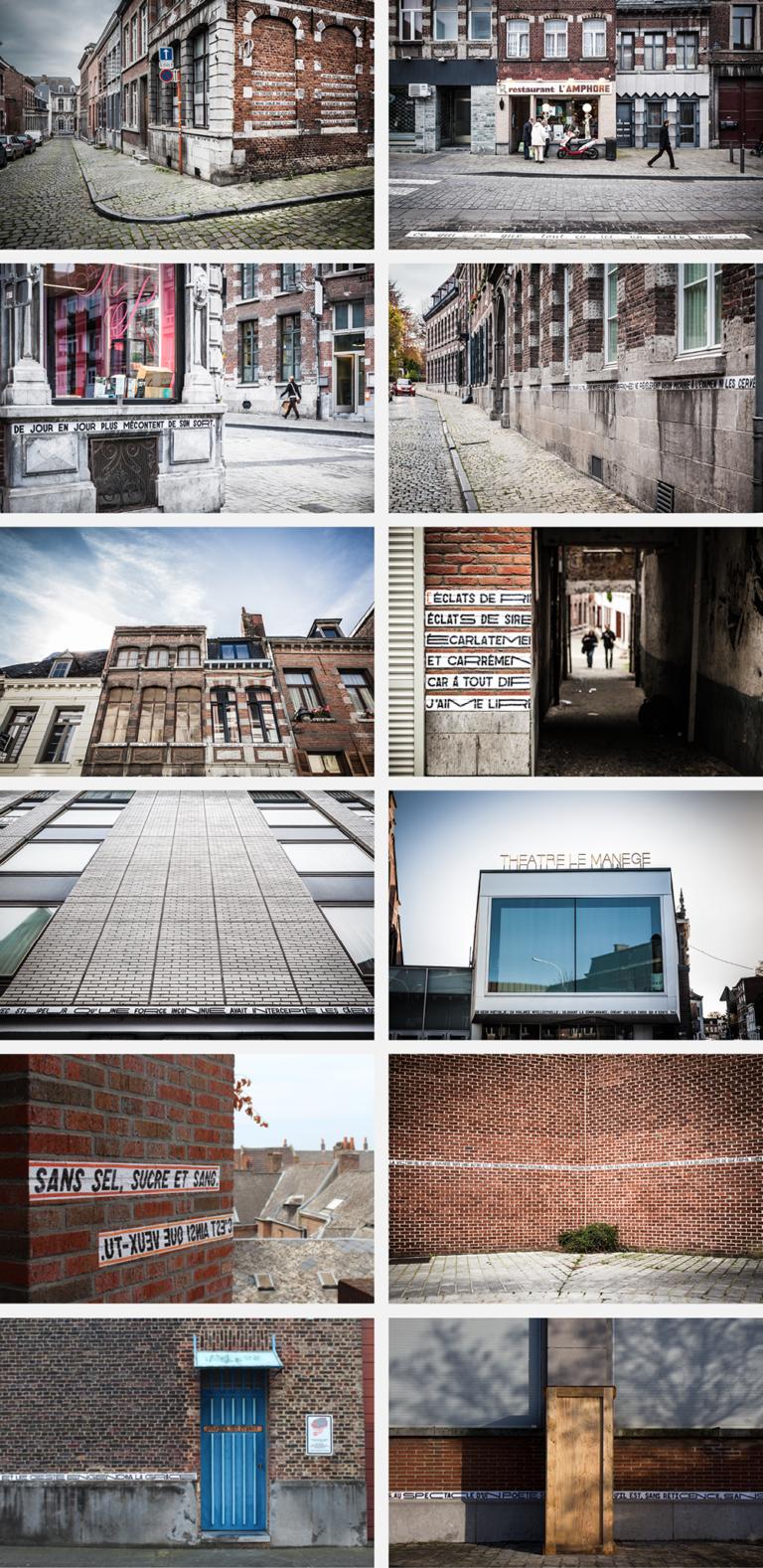 anouck fenech la phrase – installation – 2014-2016
