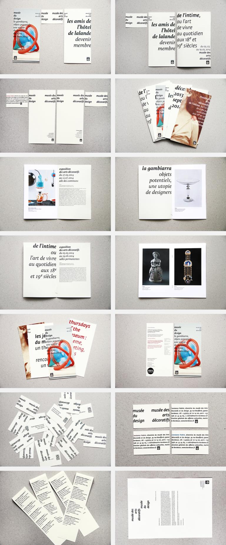 anouck fenech musée des arts décoratifs et du design de bordeaux – identité visuelle – 2013-2014