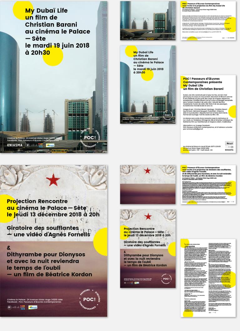 anouck fenech poc ! – identité visuelle – depuis 2016