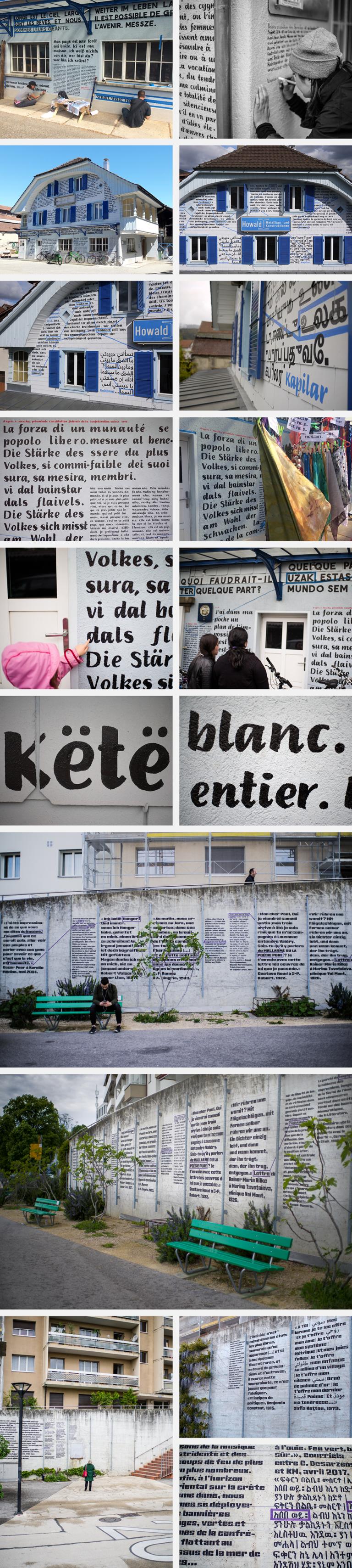 anouck fenech voyages entre les langues – installations – depuis 2016